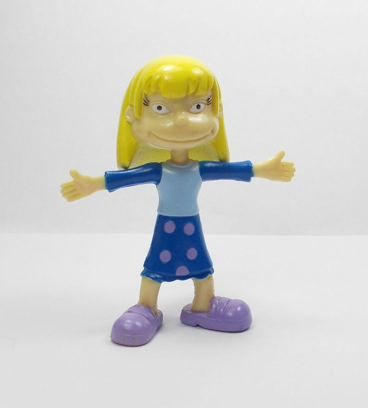 Rugrats - Angelica - Toy Figure - Cake Topper - Viacom