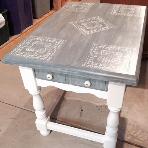 cool super heavy and solid wood end table with storage drawer meas