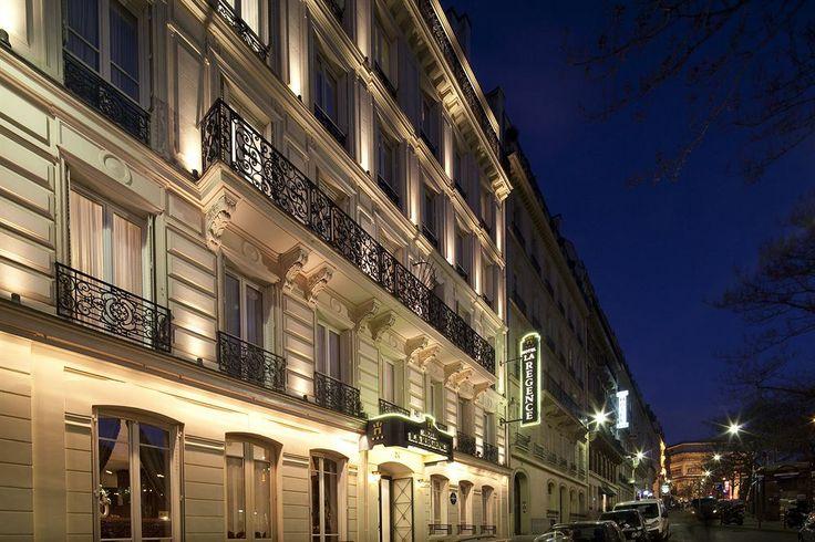 Hotel La Regence Etoile 3-star Hotel, 4.6/5, $157/night, WHITE LINENS, Balcony on all street-side rooms, 1.5 mi to Eiffel Tower, .3 mi to Arc de Triomphe