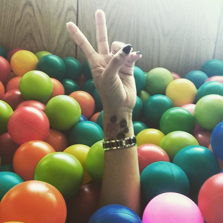 The ball pit adventure!