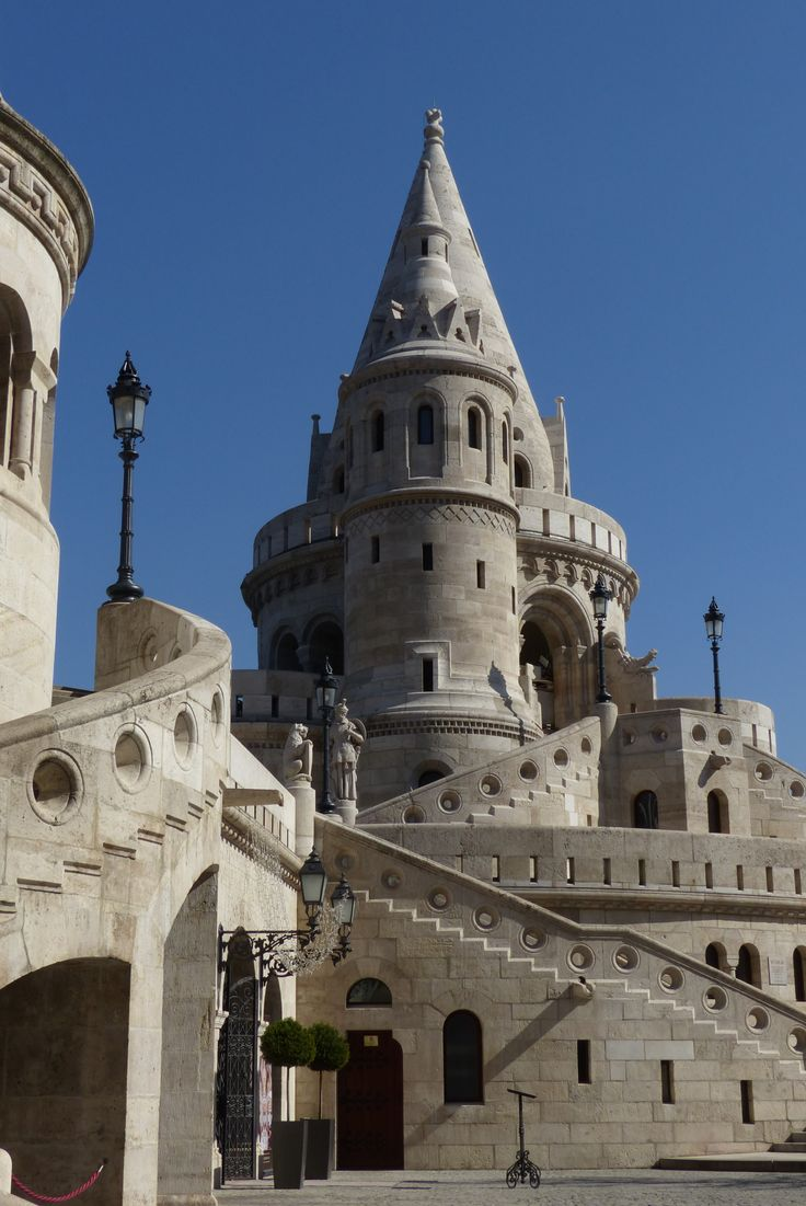 Fisherman's Bastion in Budapest (March 2014) - Photo taken by BradJill