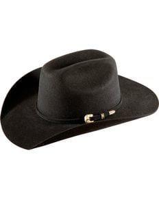 Bullhide Kids Kingman Jr. Cattleman Wool Felt Cowboy Hat, Black