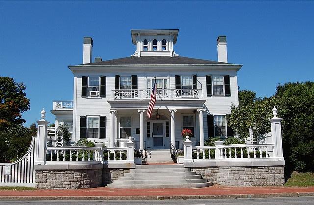 Blaine House, Augusta, Maine (ME)  Blaine House, home of Maine's governor, Augusta, Maine.