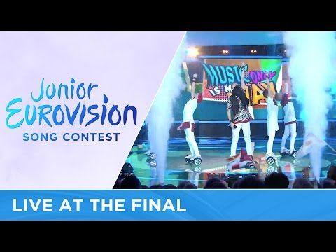 Alexander Minyonok - Musyka moih pobed (Belarus) LIVE Junior Eurovision 2016 - YouTube