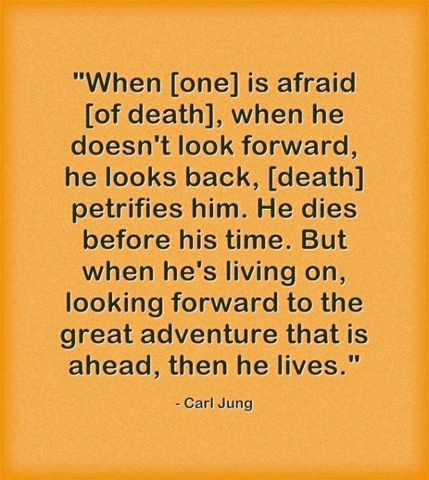 Carl Jung on Life After Death in 2020 | Carl jung, Psychology ...