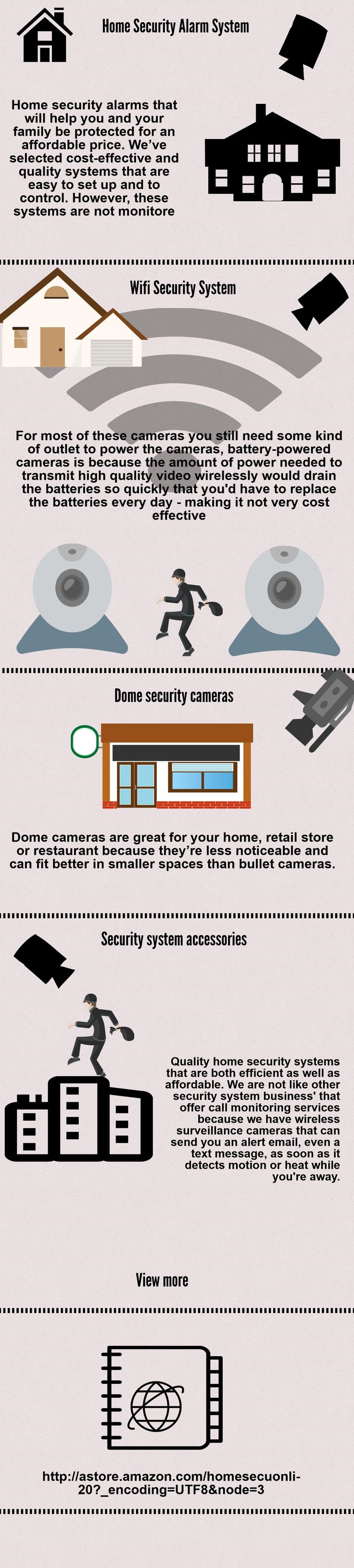 Protect your home or your business with a wireless surveillance camera from our online store.