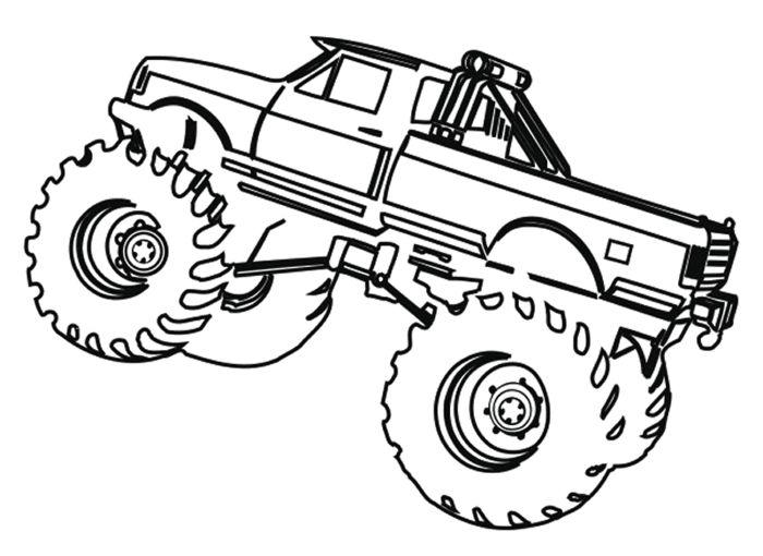 monster trucks coloring pages free | monster truck grave digger coloring 99384 - VoteForVerde ...