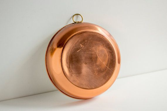 Vintage Swedish Copper Mold, Vintage Copperware, Cooking Mold, Copper Cake Mold, Serving Bowl, Scandinavian Decor, Rustic Kitchen Utensil by LittleRetronome