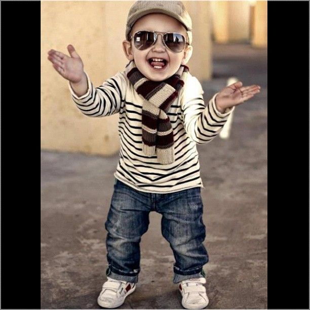This is an adorable little boy's outfit..