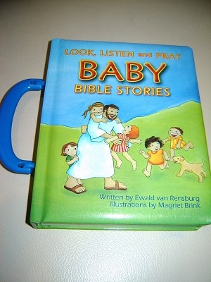Look, Listen and Pray- BABY BIBLE STORIES in Afrikaans/ Kyk, Luister...