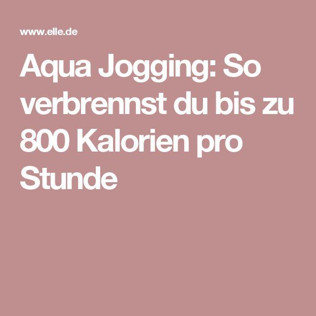 Aqua Jogging: So verbrennst du bis zu 800 Kalorien pro Stunde