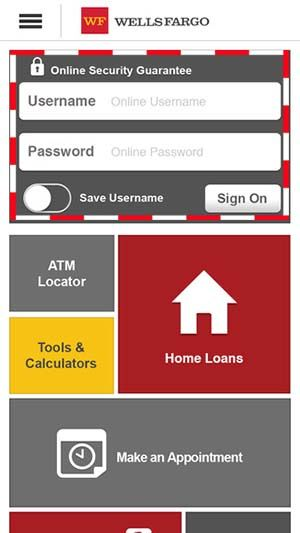 Wells Fargo also provides online and mobile banking services