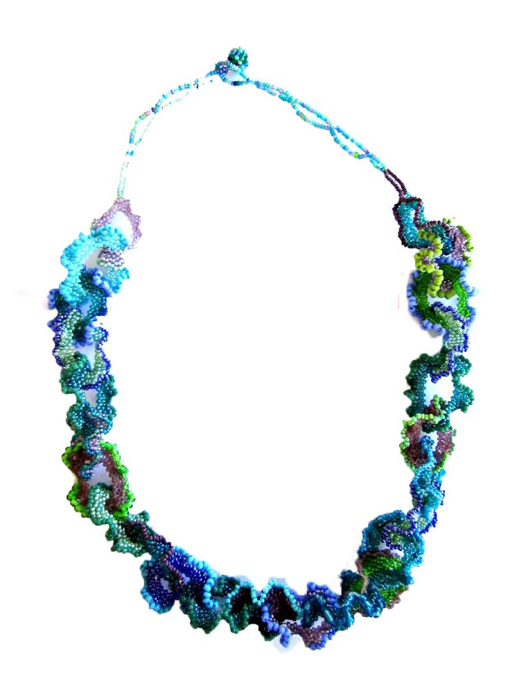 Seafrill Necklace. Made by the crafters of Woza Moya. www.hillaids.org.za/catalog