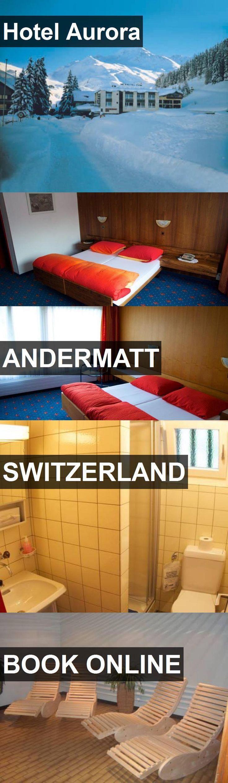 Hotel Aurora in Andermatt, Switzerland. For more information, photos, reviews and best prices please follow the link. #Switzerland #Andermatt #travel #vacation #hotel