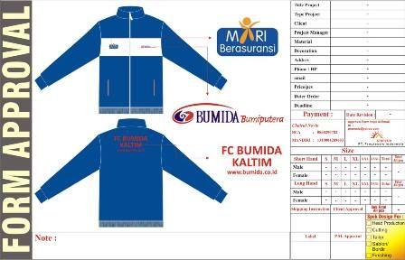 http://www.konveksi-jakarta.com/ Jaket BUMIDA Kaltim
