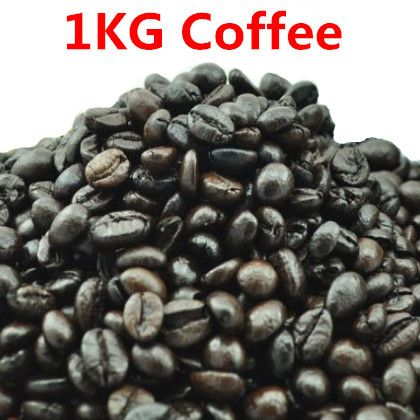 #greentea #yummy #coffee 1KG High-quality Vietnam Coffee Beans Original Baking charcoal roasted Organic food Vina green slimming coffee tea Free shipping