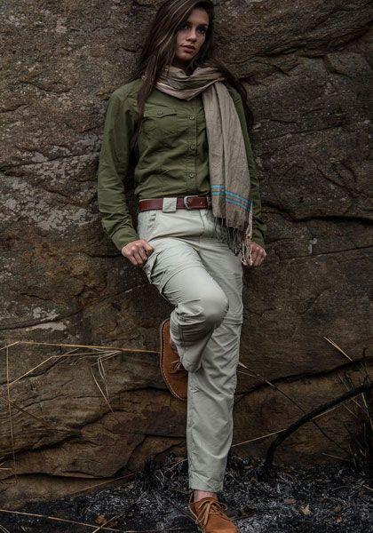 брюки в стиле Сафари