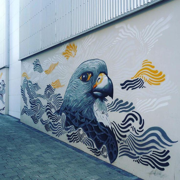 Impressive street art in Laugavegur street Reykjavík. This was just one of many seen on the hunt for dinner. #reykjavik #holiday #seethebeauty #streetart #iceland #laugavegur #walkandseemore #babyitscoldoutside #brrr