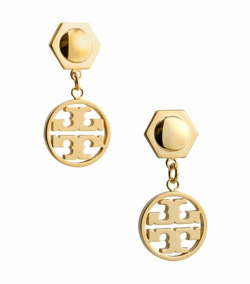 : Logos Earrings, Tory Earrings, Style, Circle Logos, Circles Logos, Tory Burch, Earrings Toryburch, Burch Earrings, Burch Circles