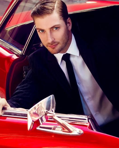 Daniel Lissing aka Mountie Jack of When Calls the Heart