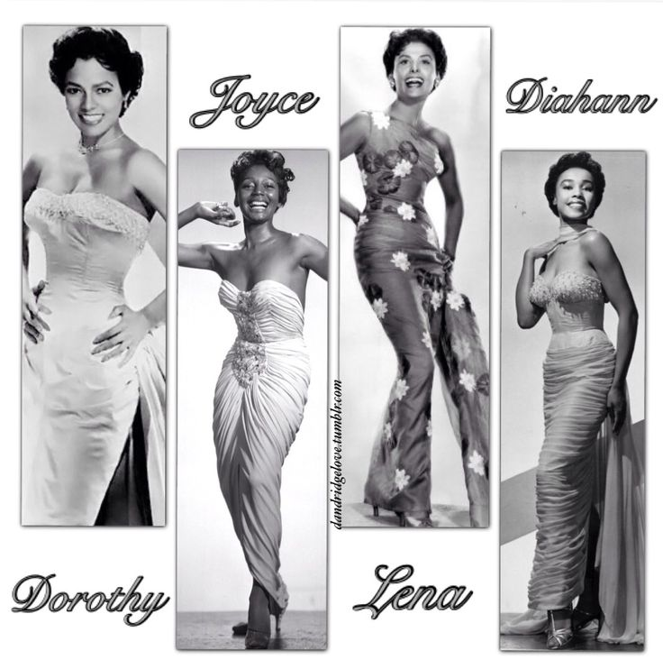 dandridgelove: Dorothy Dandridge, Joyce Bryant, Lena Horne, and Diahann Carroll are legendary women who continue to inspire and captivate generation after generation with their magnificent beauty and talents!