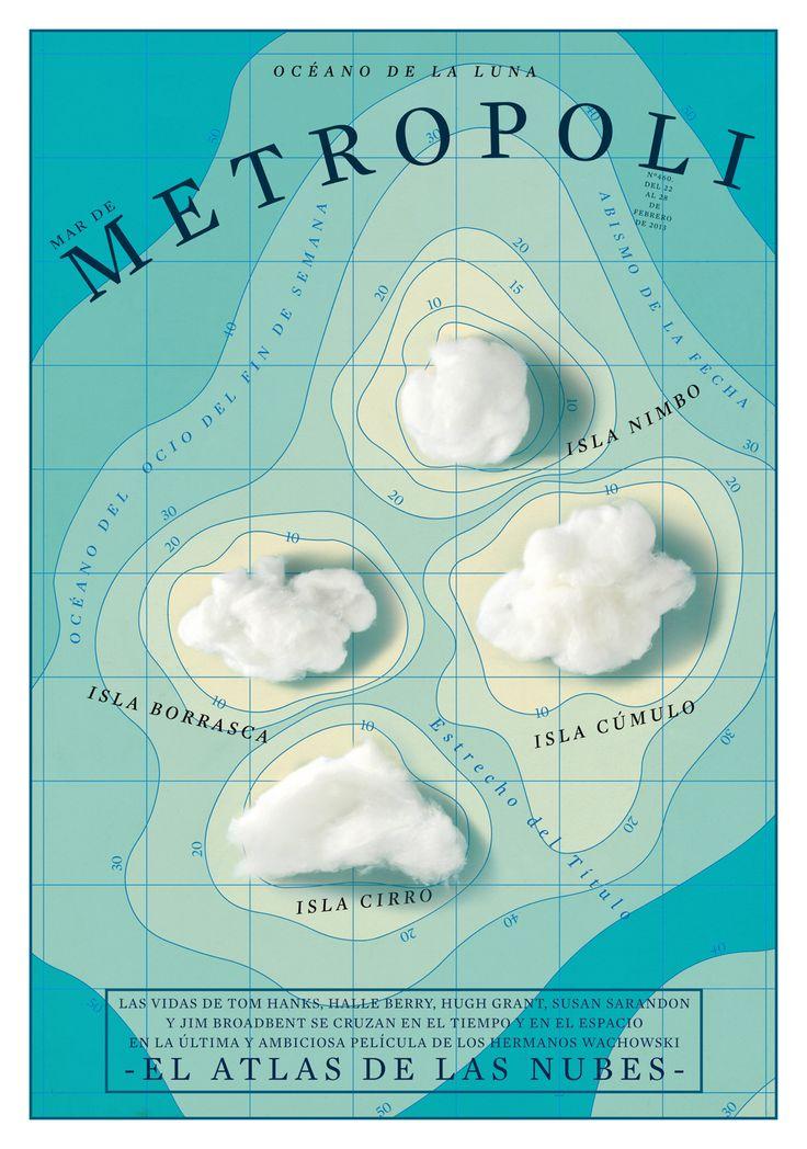 EL ATLAS DE LAS NUBES (Cloud Atlas). Una película de Andy y Lana Wachowski con Tom Hanks, Halle Berry, Hugh Grant y Susan Sarandon.