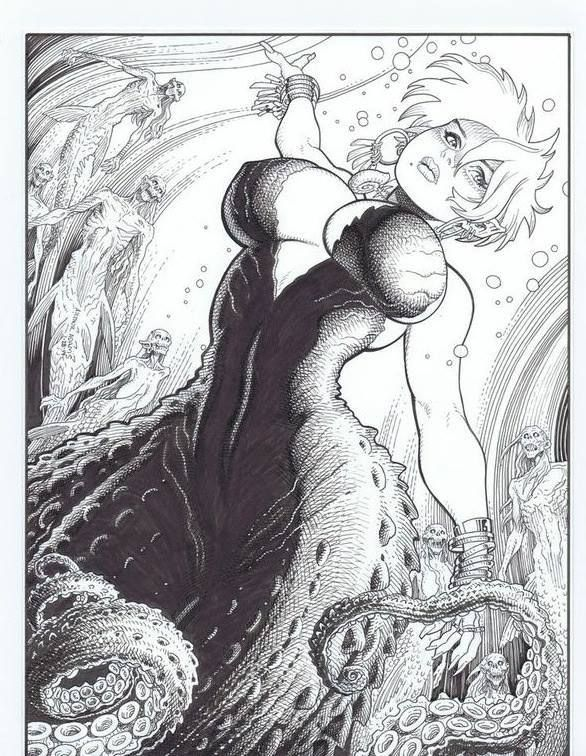 The Sea Witch by Arthur Adams  *