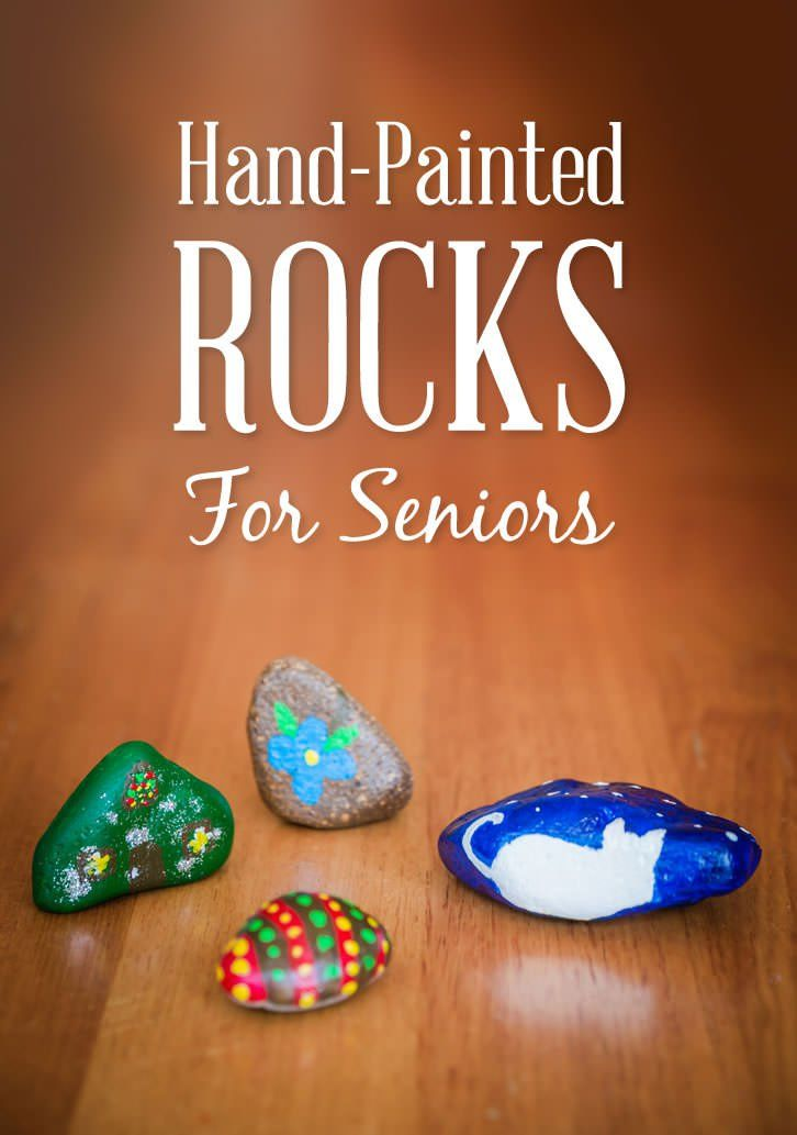 This is a lovely, calming and creative activity for the elderly using smooth river rocks and pebbles. These decorated pebbles are perfect small gifts to give to friends, families and volunteers.