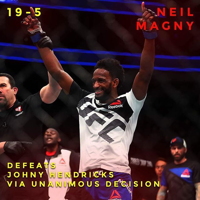 Neil Magny takes home the victory over Jonny Hendricks. Did you agree with judges decision? : Mark J. Rebilas of USA TODAY #champions #mma #ufc #ufc207 #infographic #tmobilearena #fighting #grappling #judo #lasvegas #nevada #neilmagny