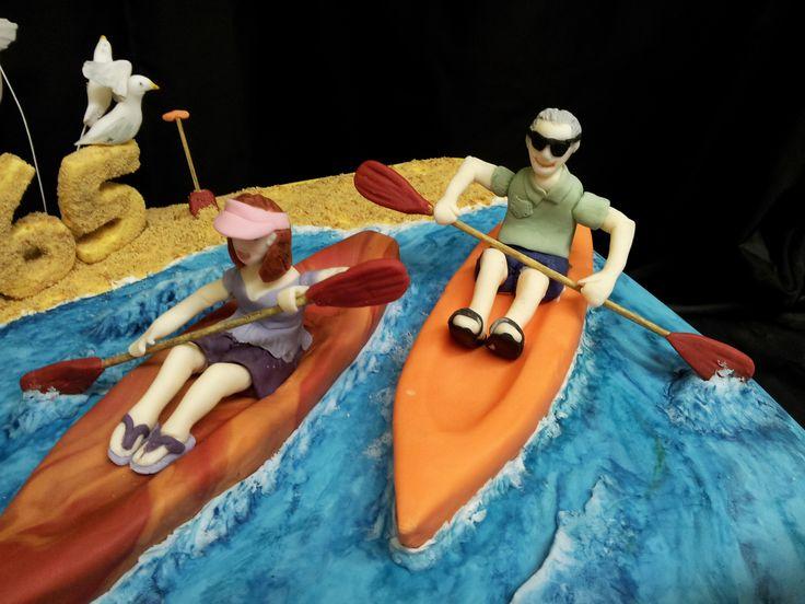 Birthday Cake In Canoe