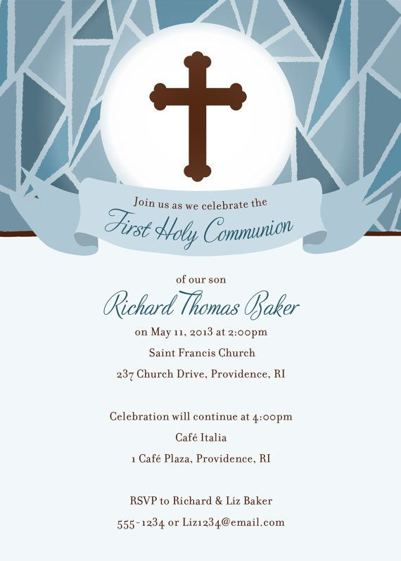 first communion digital invite paper treats pinterest