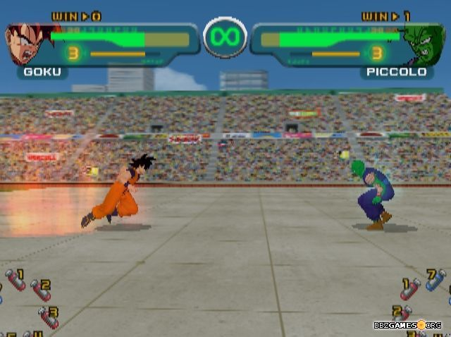 27 best dragon ball games images on pinterest dragon ball dragons dragon ball z budokai in game screenshot voltagebd Image collections