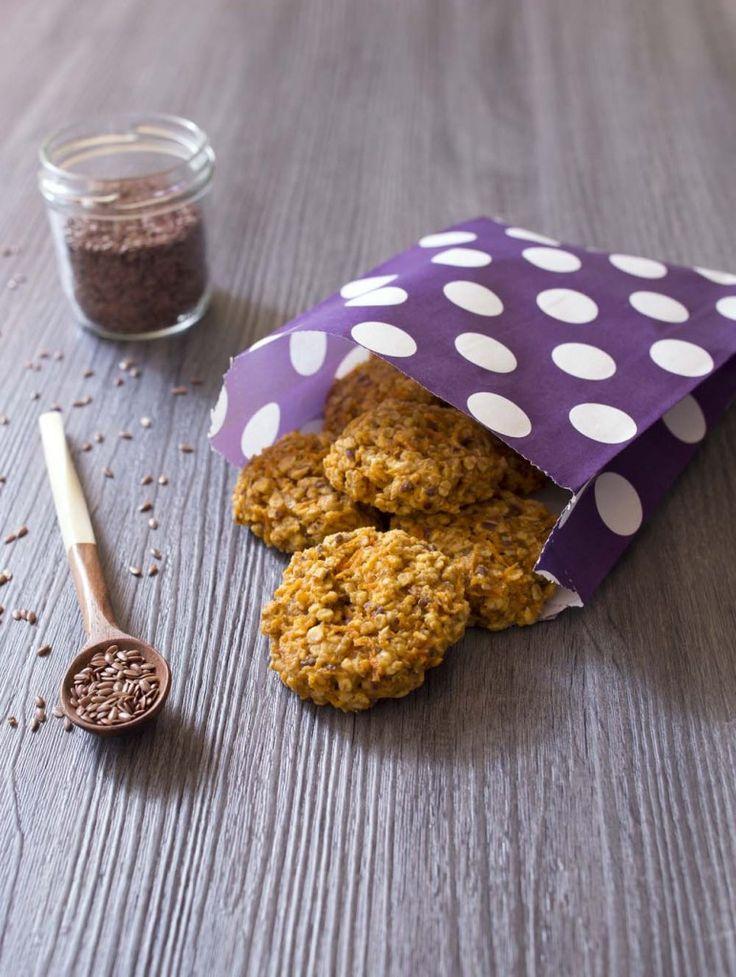 Photo de la recette : Moelleux aux carottes, cannelle et graines de lin