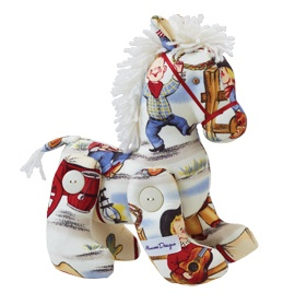 Just White, Horse With Vintage Print, $49.95, Shop 37, Level 2, QVB.