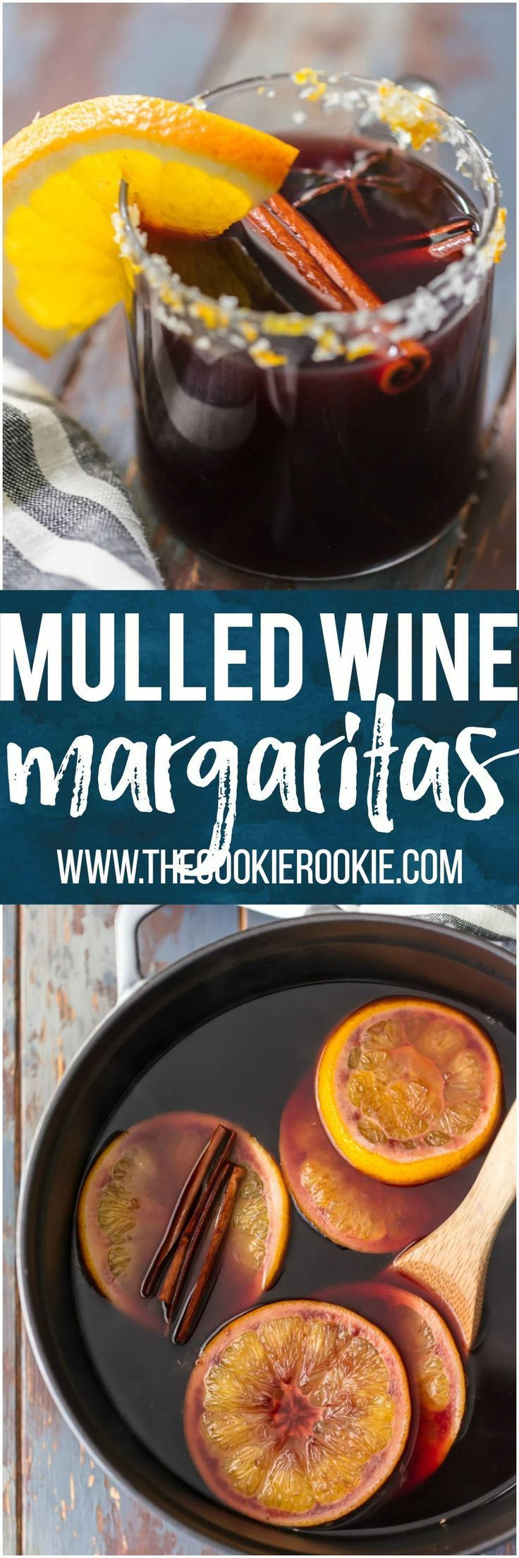 These SPICED MULLED WINE MARGARITAS are so fun, festive, and unique. This favorite holiday beverage has complex flavors and warms the soul. The ultimate Christmas cocktail. #mulledwine #wine #cocktail #christmas #holiday #tequila via @beckygallhardin