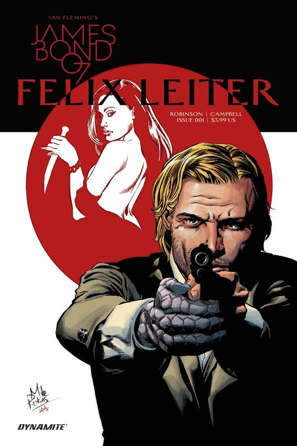 A Beaten-Down P.I. Character In The World Of Bond – James Robinson Talks Felix Leiter