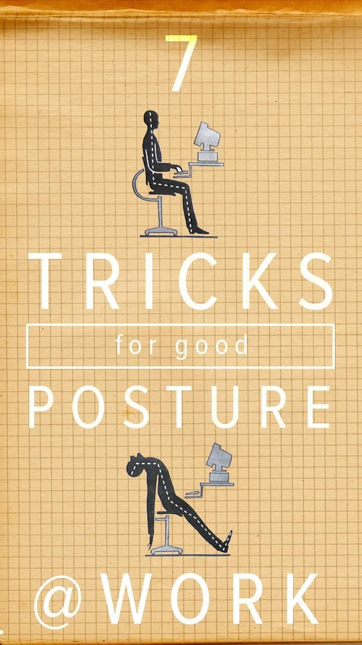 These simple tricks can help you improve your posture gradually.