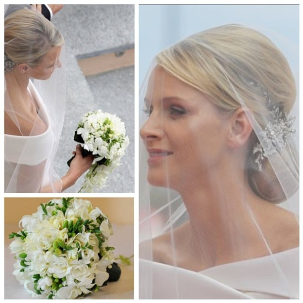 The wedding of Albert II, Prince of Monaco, and Charlene Wittstock, 1 July 2011. - @princess_monaco- #webstagram
