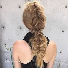 Confessions of a hairstylist - fishtail