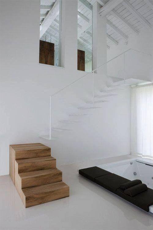 Mejores 156 imágenes de Staircases en Pinterest