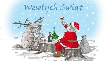 """Rodzinnych, pełnych miłości i ciepła Świąt Bożego Narodzenia Wszystkim naszym Czytelnikom i Przyjaciołom, Życzy Redakcja """"Łowca Polskiego"""""""