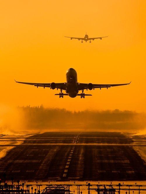 Take Off - landing...