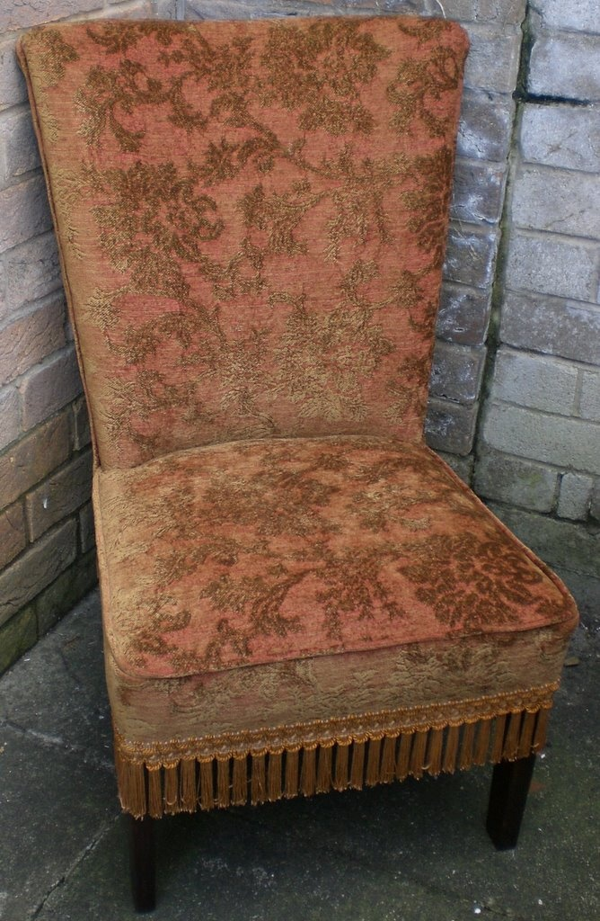 30's chair... Love this color and texture!