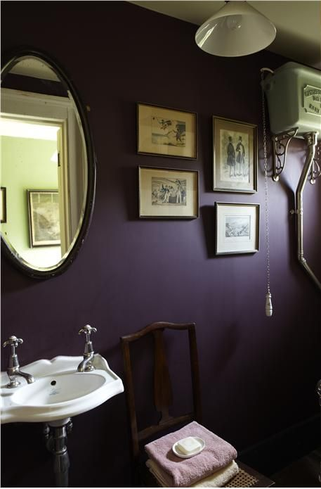 F&B said to consider dark colours for spaces wtih poor natural light and good artificial lighting...