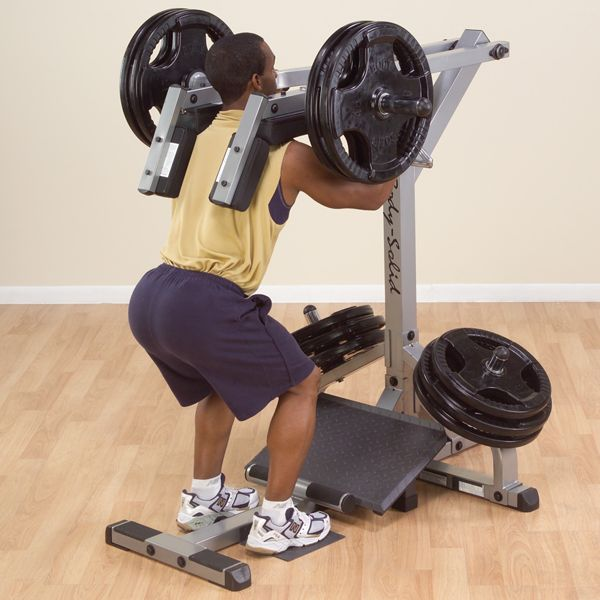 GSCL360 - Body-Solid Leverage Squat Calf Machine - Body-Solid Fitness