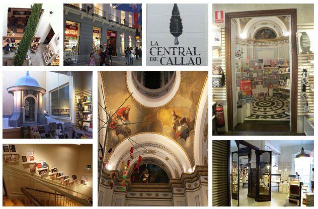 Librería La Central. Madrid.