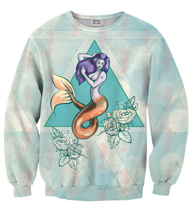 Mermaid sweater, Mr. GUGU & Miss GO