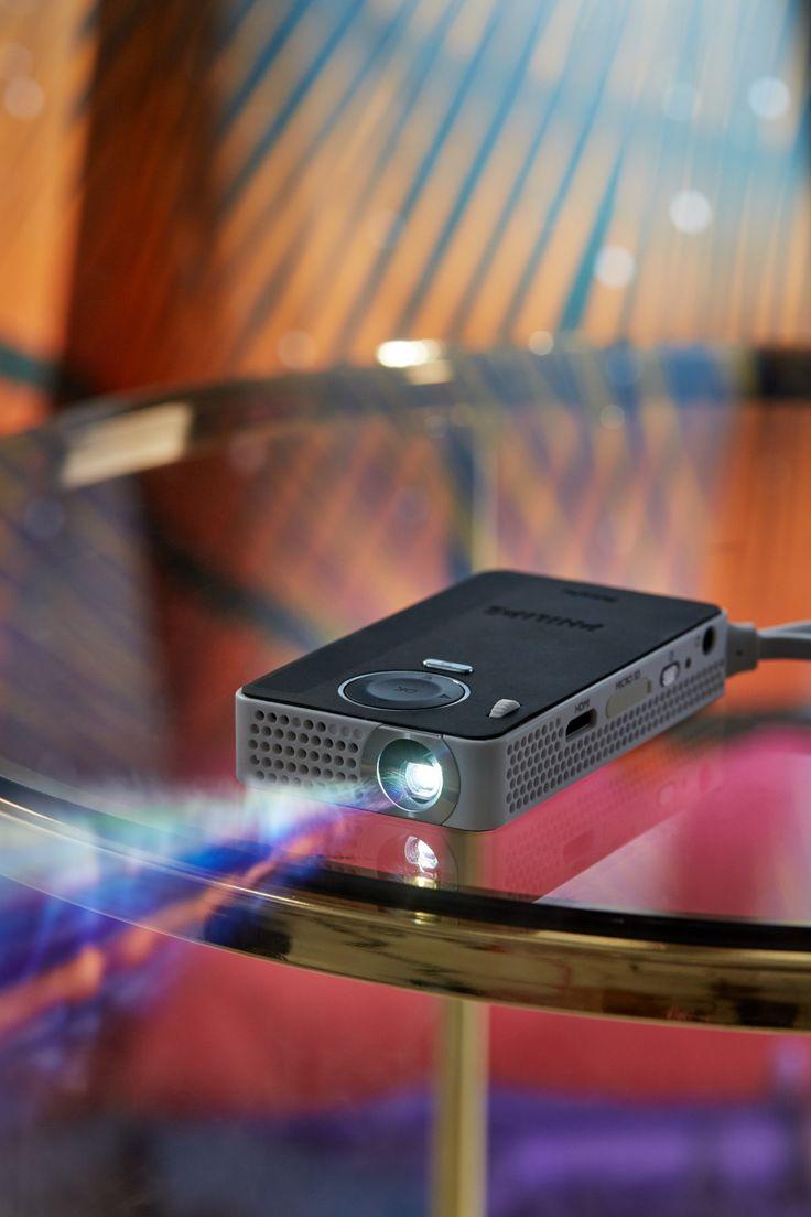 philips mini projector smartphone