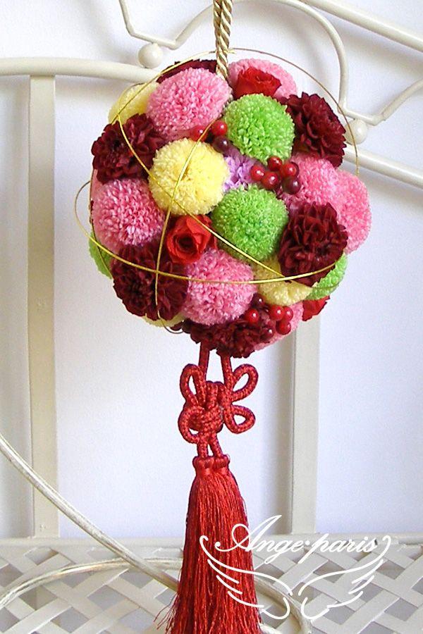 和装ボールブーケもボールを使って挑戦したい! *DIY ブーケ・手作りアイデア例一覧集*