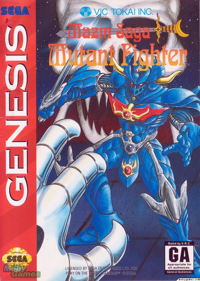 Mazin Saga: Mutant Fighter Sega Genesis